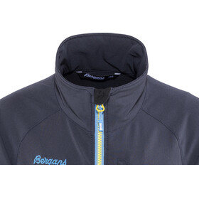 Bergans Youth Kjerag Jacket Navy/Light Winter Sky/Yellowgreen